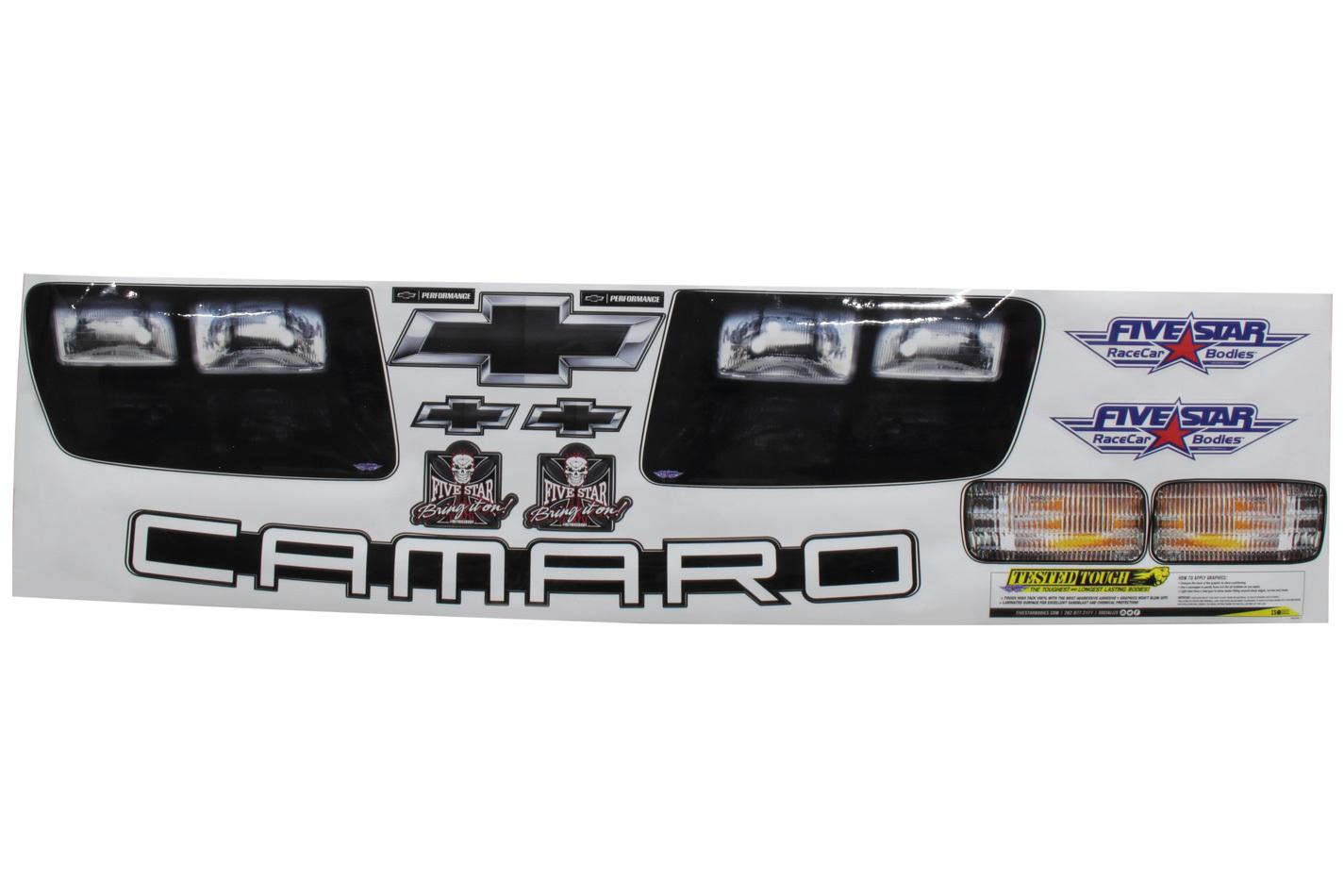 Fivestar Camaro Headlight Sticker