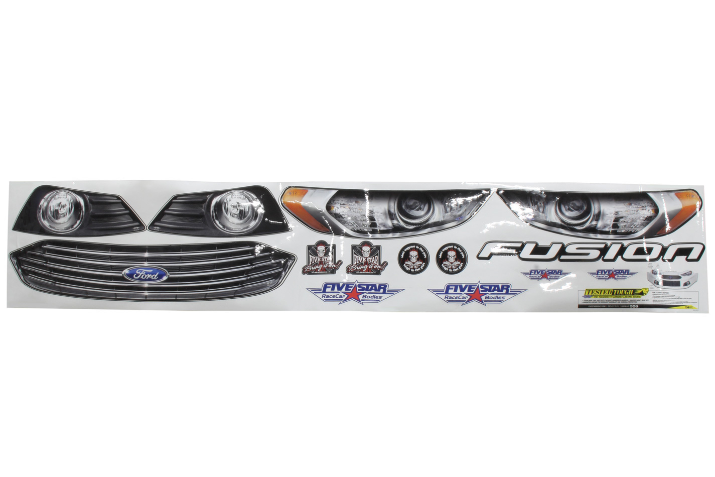 Fivestar Nose Only Graphics Kit 2013 and up Fusion
