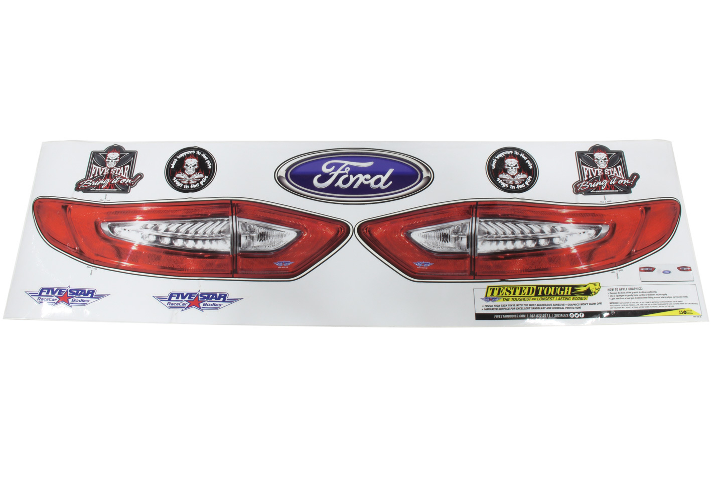 Fivestar Tail Only Graphics Kit 2013 and up Fusion