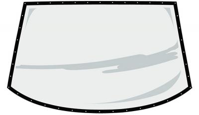 Fivestar Rear Window ABC Molded .093 Uncoated