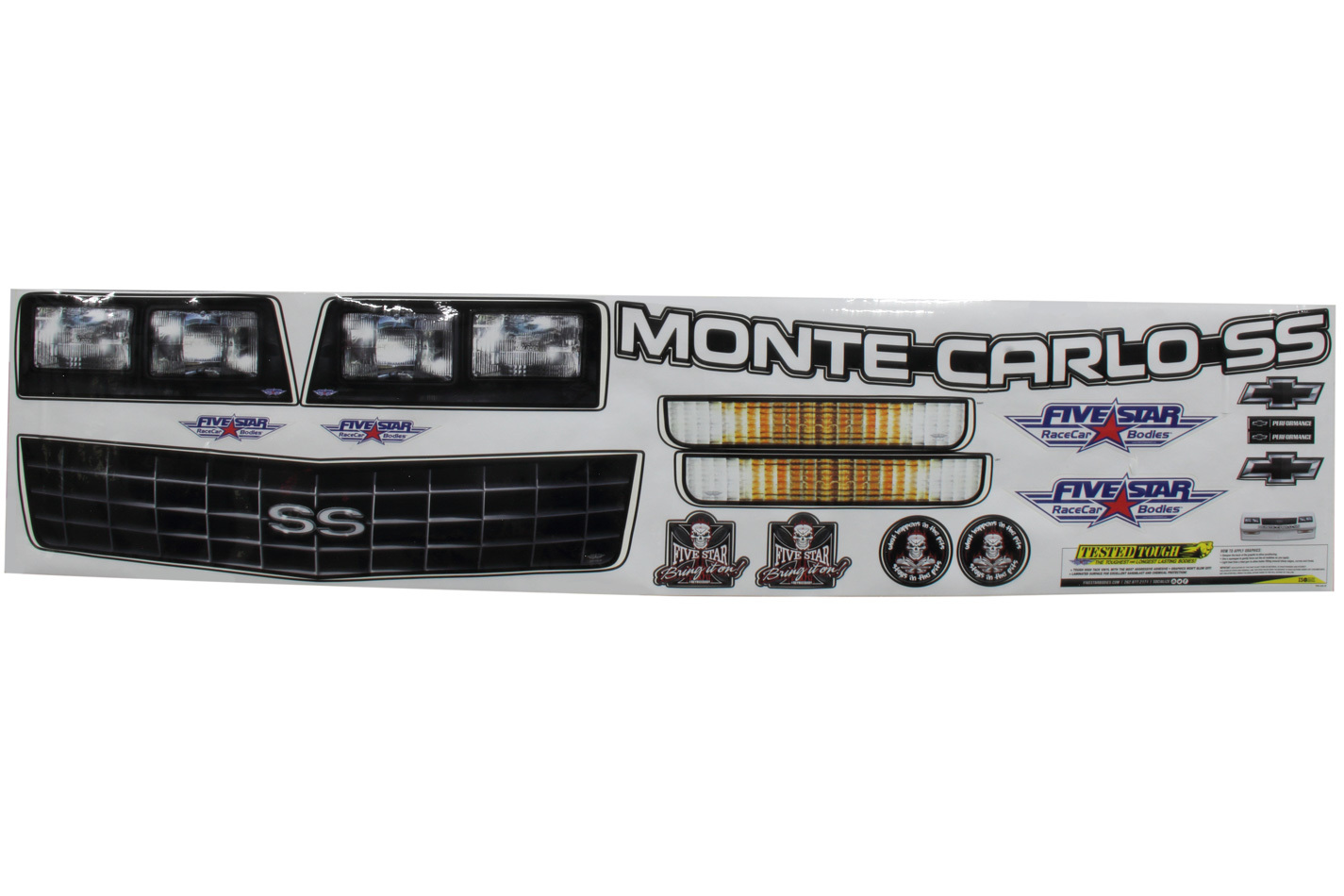 Fivestar Graphics Kit 88 Chevy Monte Carlo