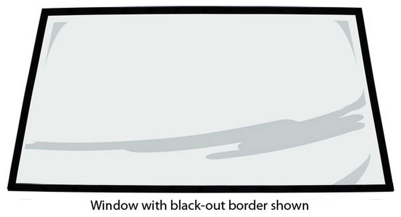 Fivestar 88 Monte Rear Window Flat .093 Uncoated