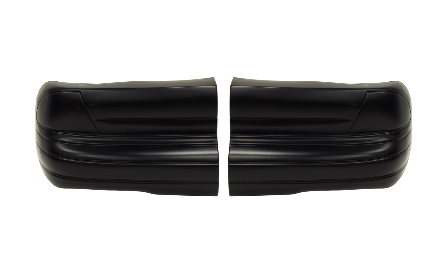 Fivestar 99 Monte Carlo Bumper Cover Black Plastic Rear