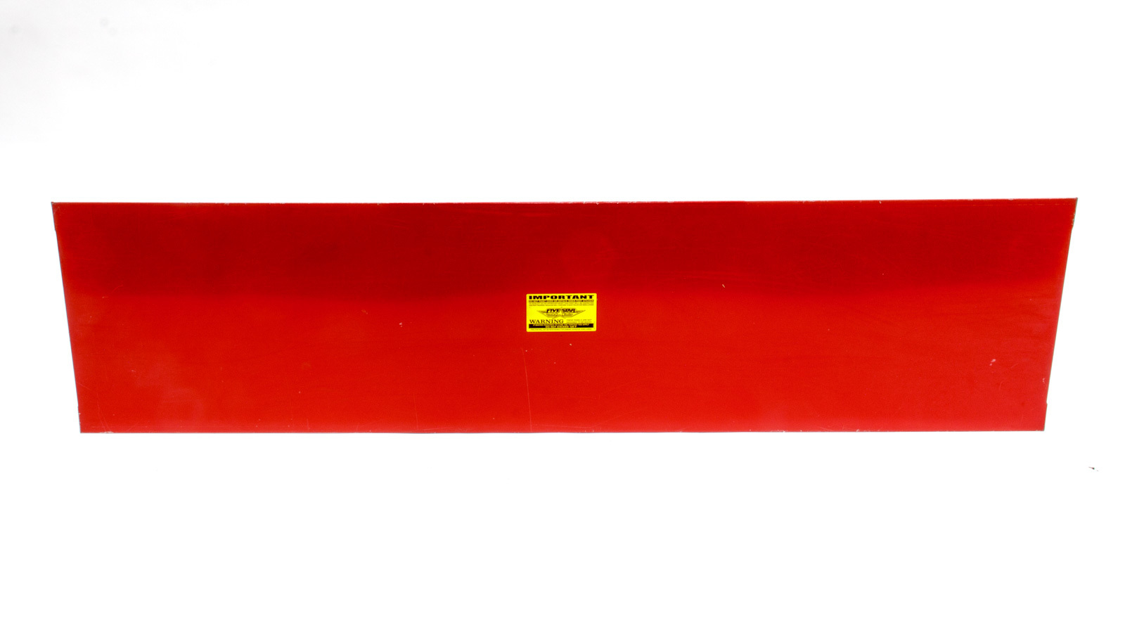 Fivestar ABC Aluminum Deck Lid Red
