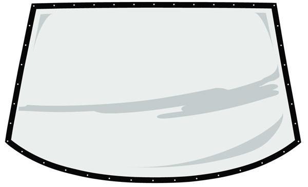 Fivestar S2 Rear Window Pre-Cut and Drilled w/ Blackout