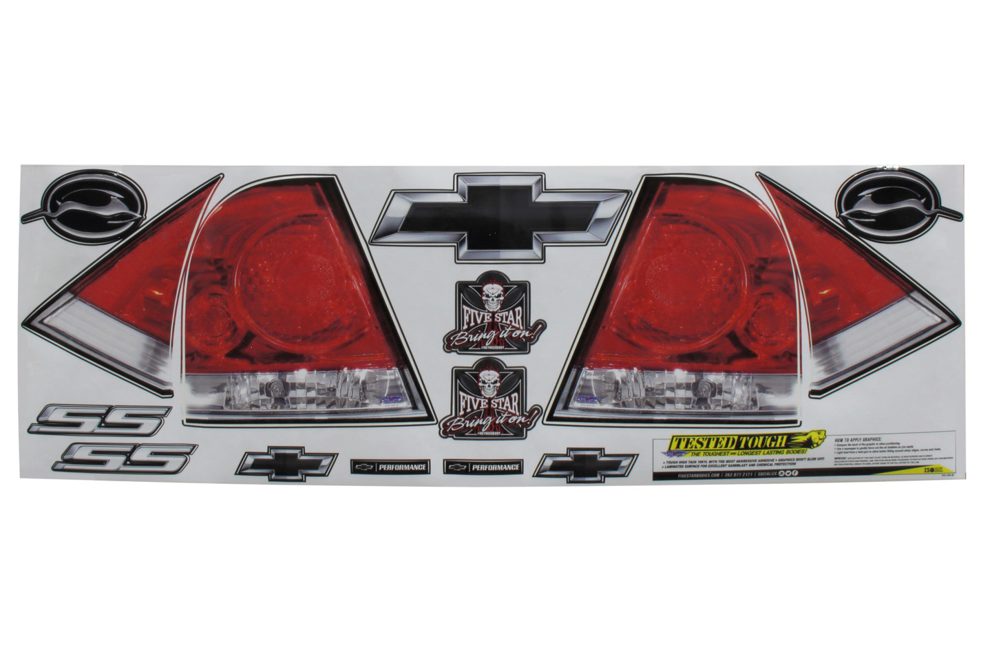Fivestar Tail Only Graphics 08 Impala SS