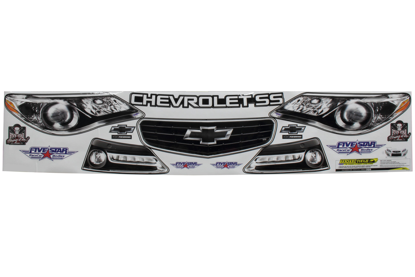 Fivestar Nose Only Graphics Kit 13 Chevy SS