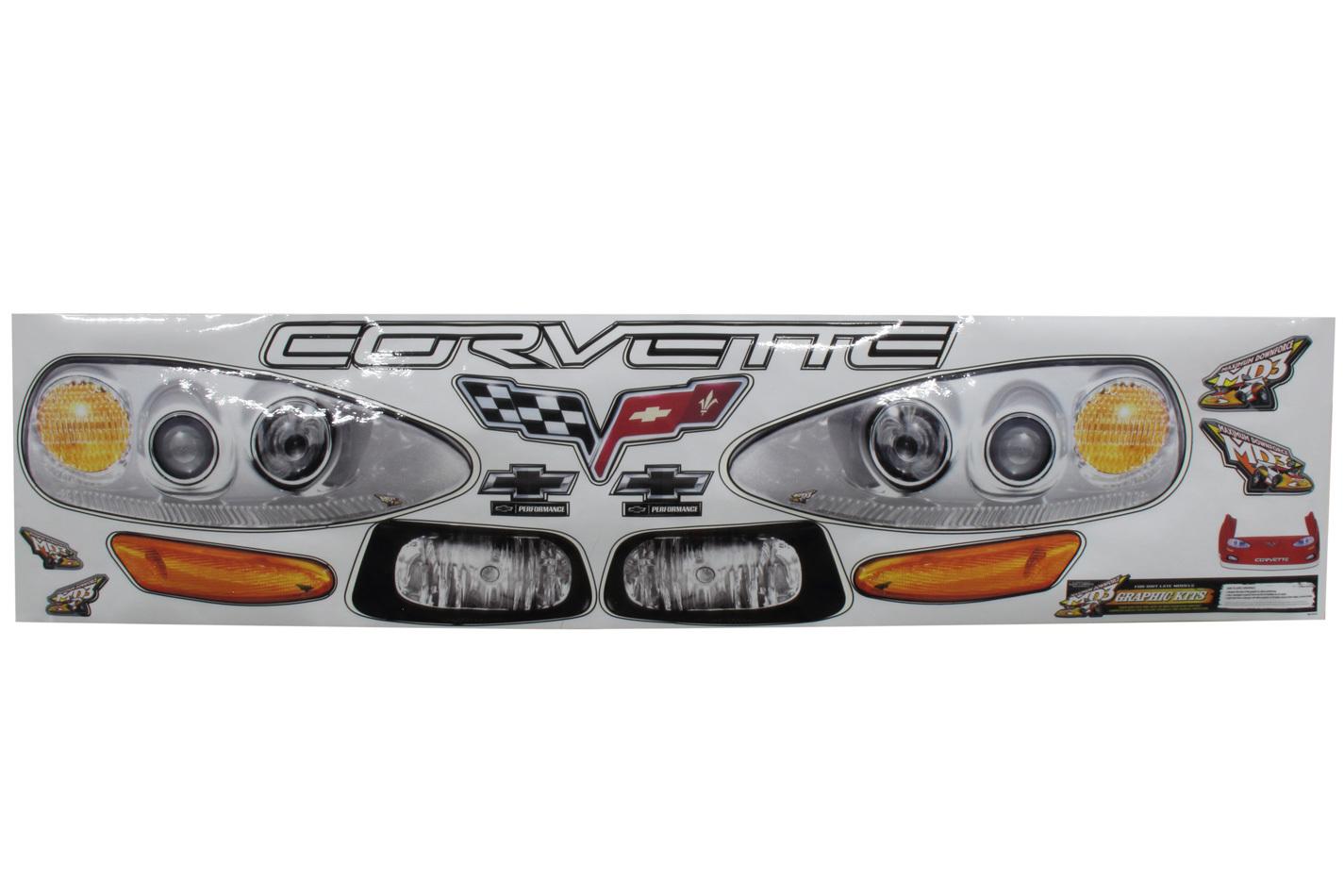 Fivestar Nose Only Graphics MD3 Corvette
