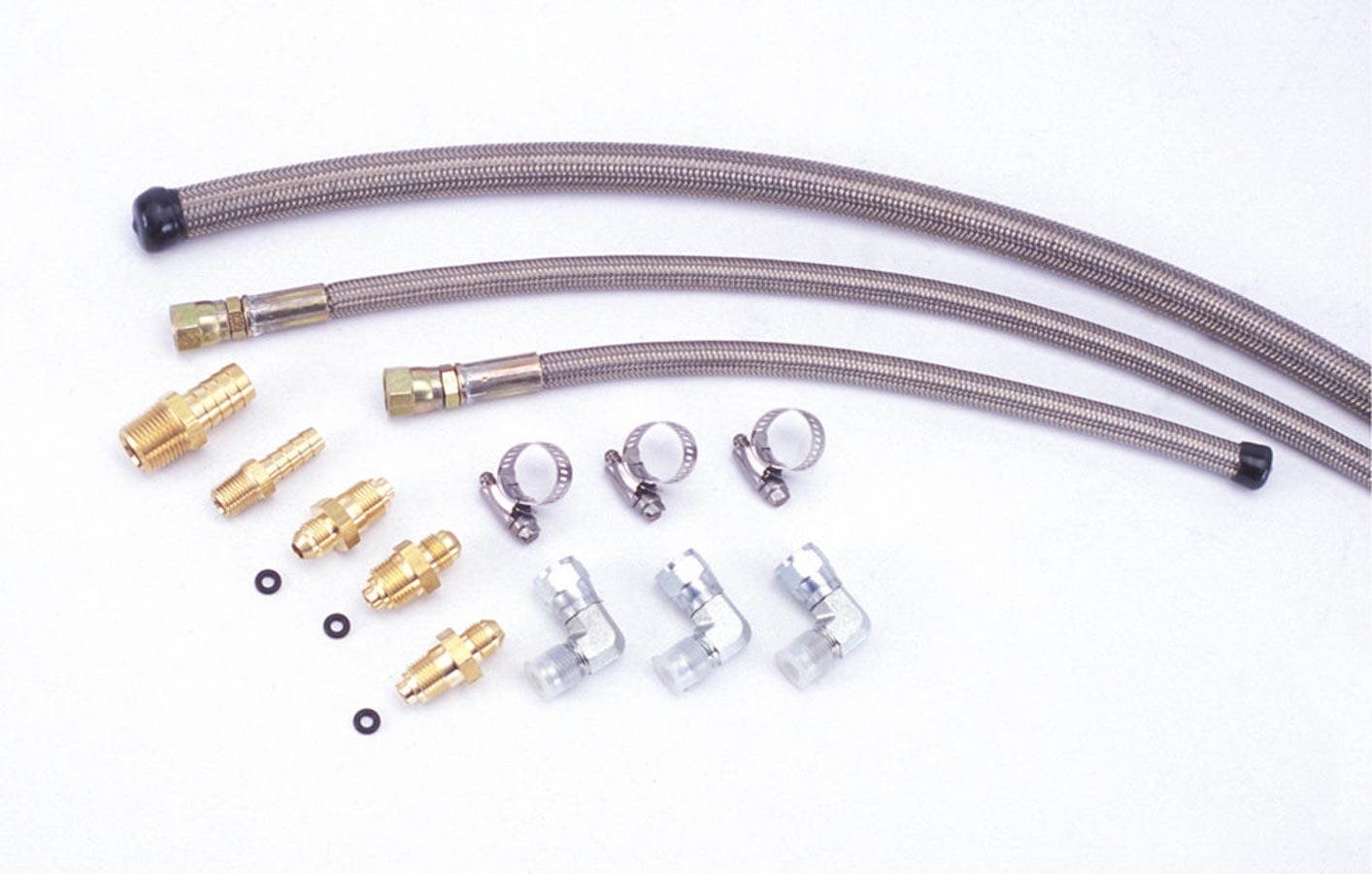 Flaming River Stainless Braided Hose Kit