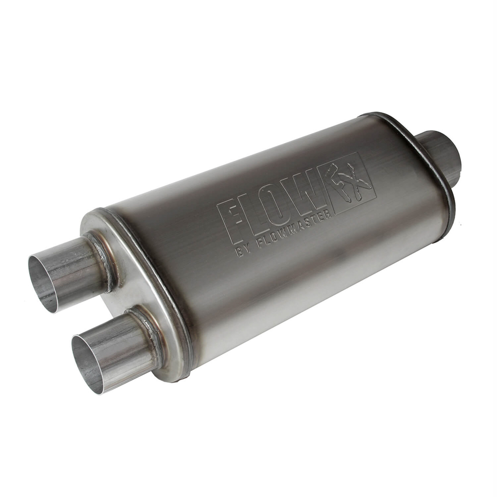 Flowmaster FlowFXMuffler 3.5in Cntr In / 2.5in Dual Out
