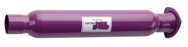 Flowtech Purple Hornie Muffler - 3.00in/2.25in