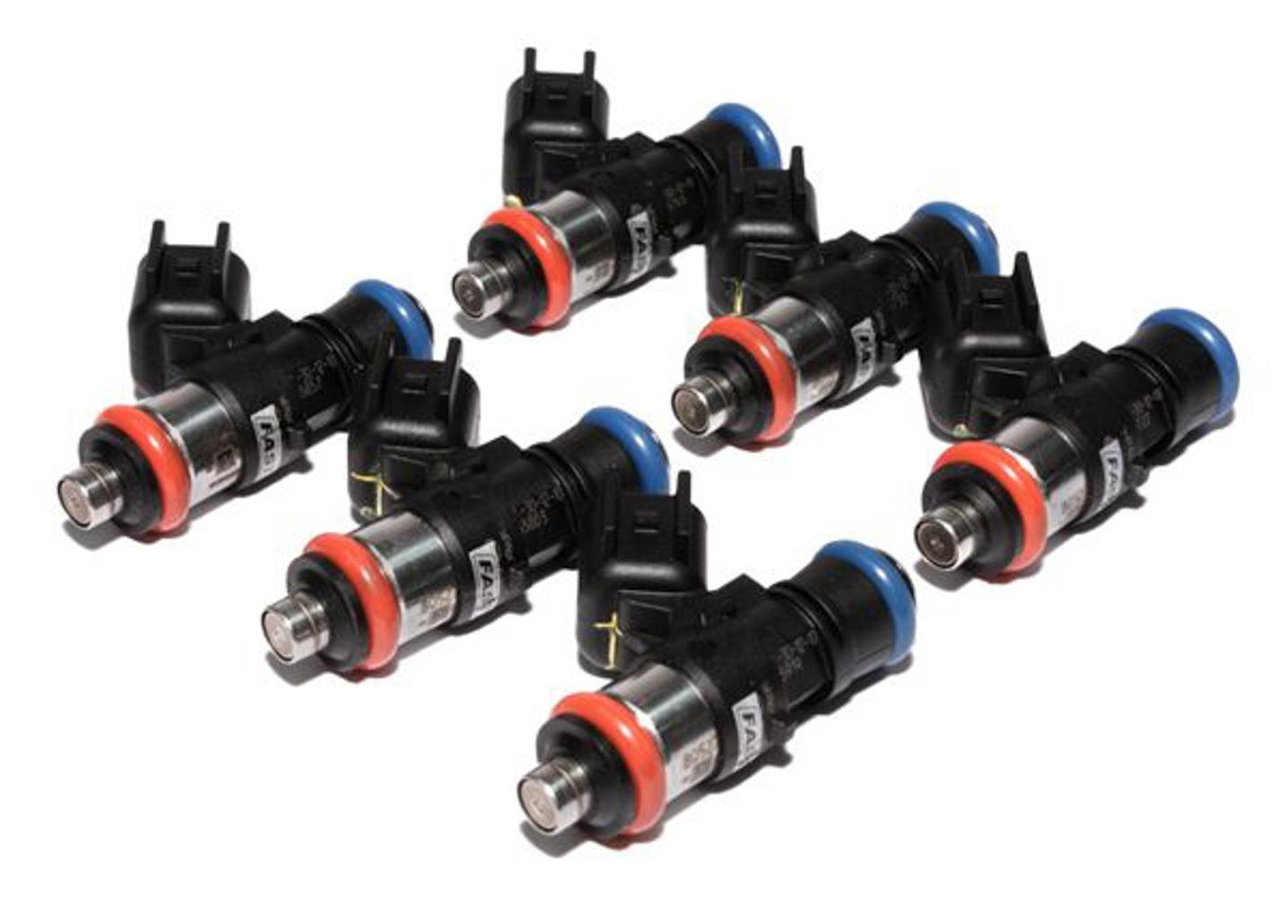 Fast Electronics 50LB/HR Fuel Injectors 6-pk High Impedance