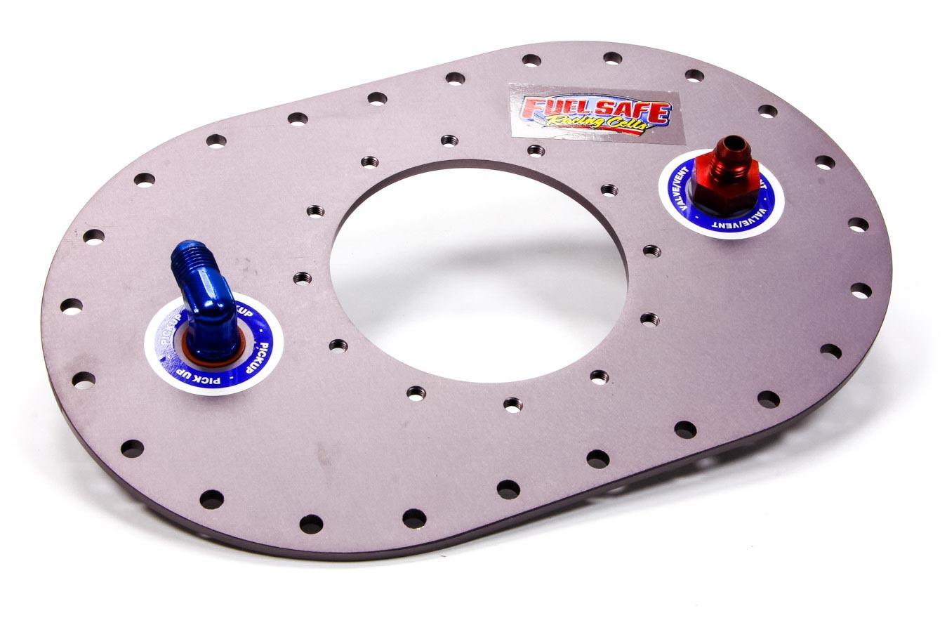 Fuel Safe Muli Loc. Plate W/Fittin