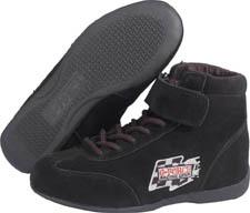 G-force GF235 RaceGrip Mid-Top Shoes Black Size 12