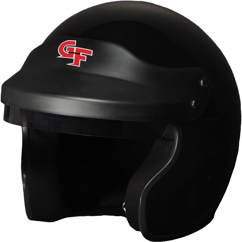 G-force Helmet GF1 Open Small Black SA2020