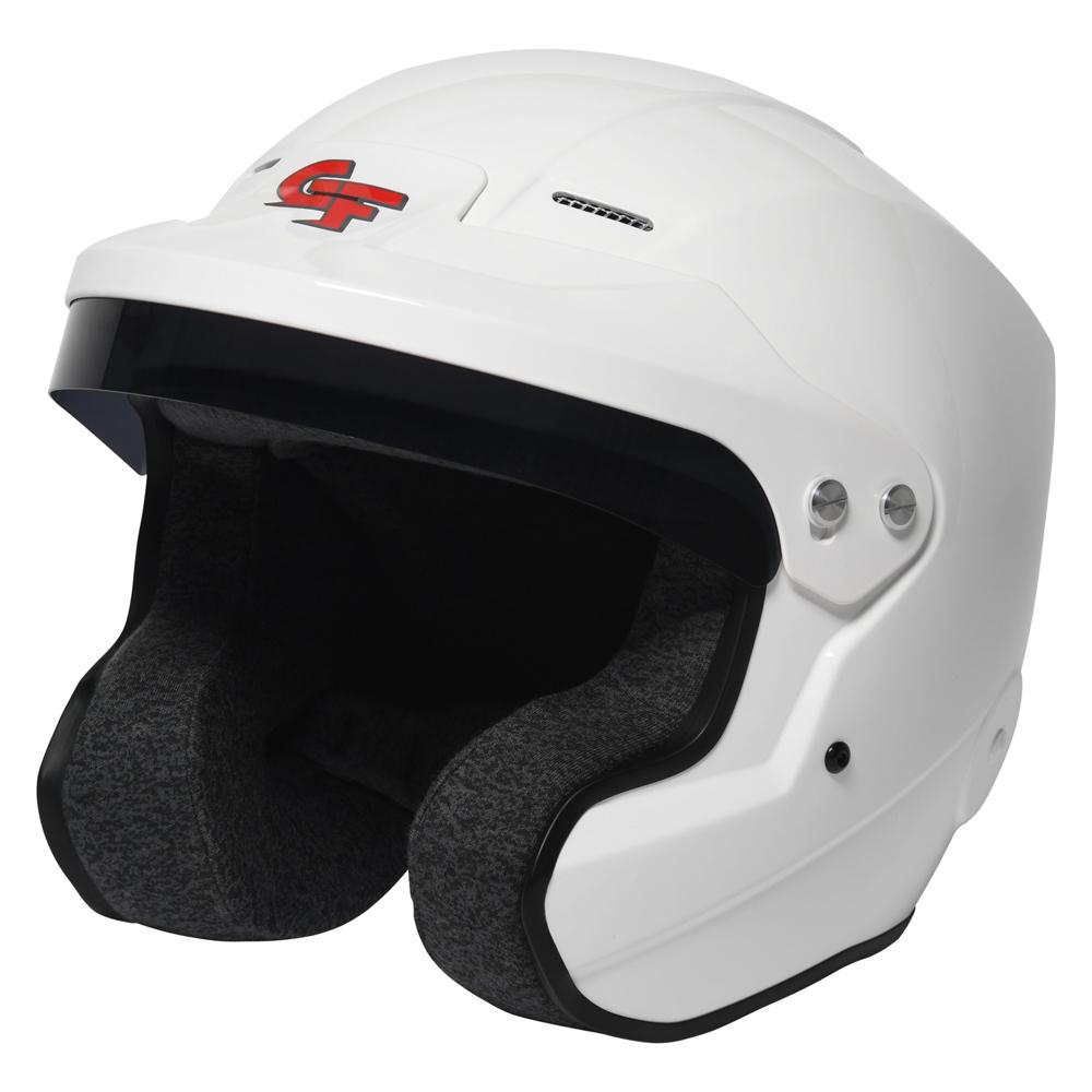 G-force Helmet Nova Open Medium White SA2020