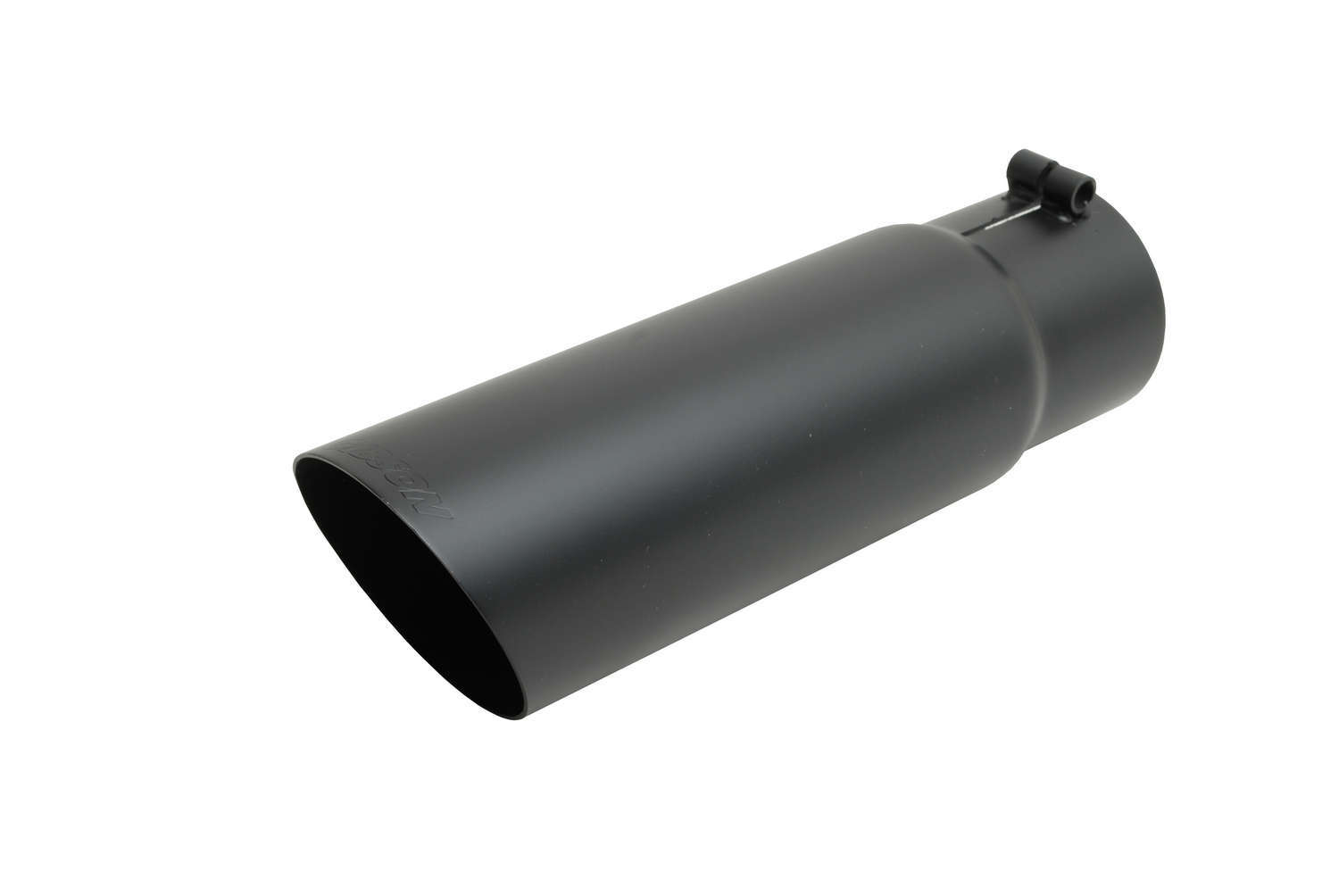 Gibson Exhaust Black Ceramic Single Wal l Angle Exhaust Tip