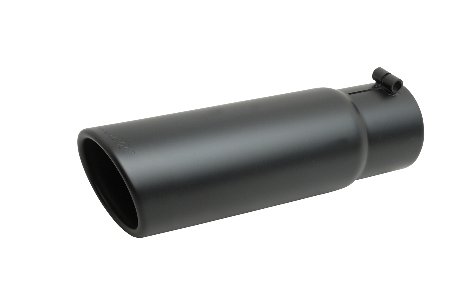 Gibson Exhaust Black Ceramic Rolled Edg e Angle Exhaust Tip
