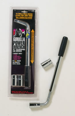 Gorilla Telescoping Lug Wrench w/(2) Dual Sockets