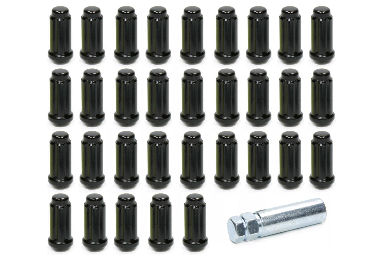 Gorilla 14mm x 1.50 8 Lug Kit Black