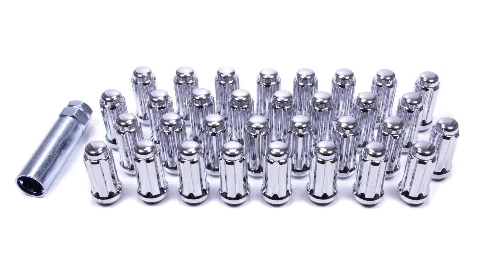 Gorilla 14mm x 1.50 8 Lug Kit Chrome