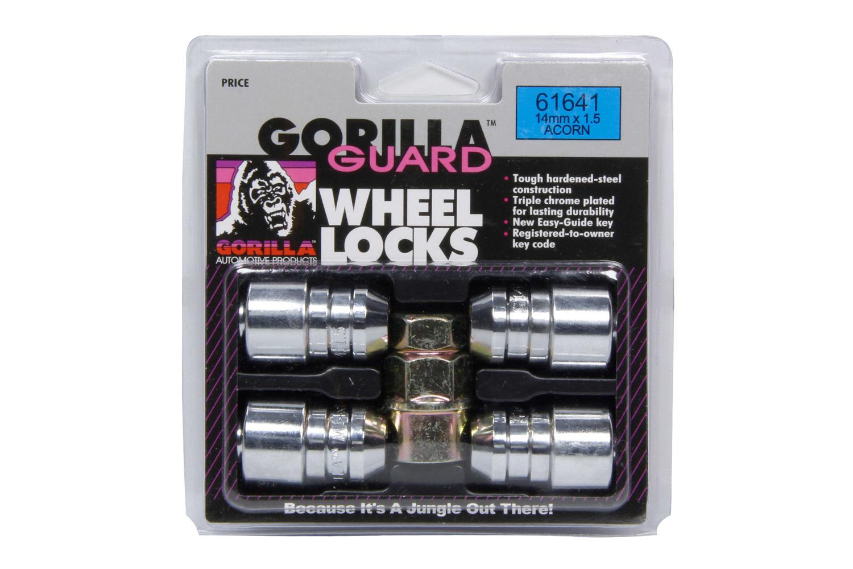 4 Gorilla Guard Locks Acorn 14mm x 1.50