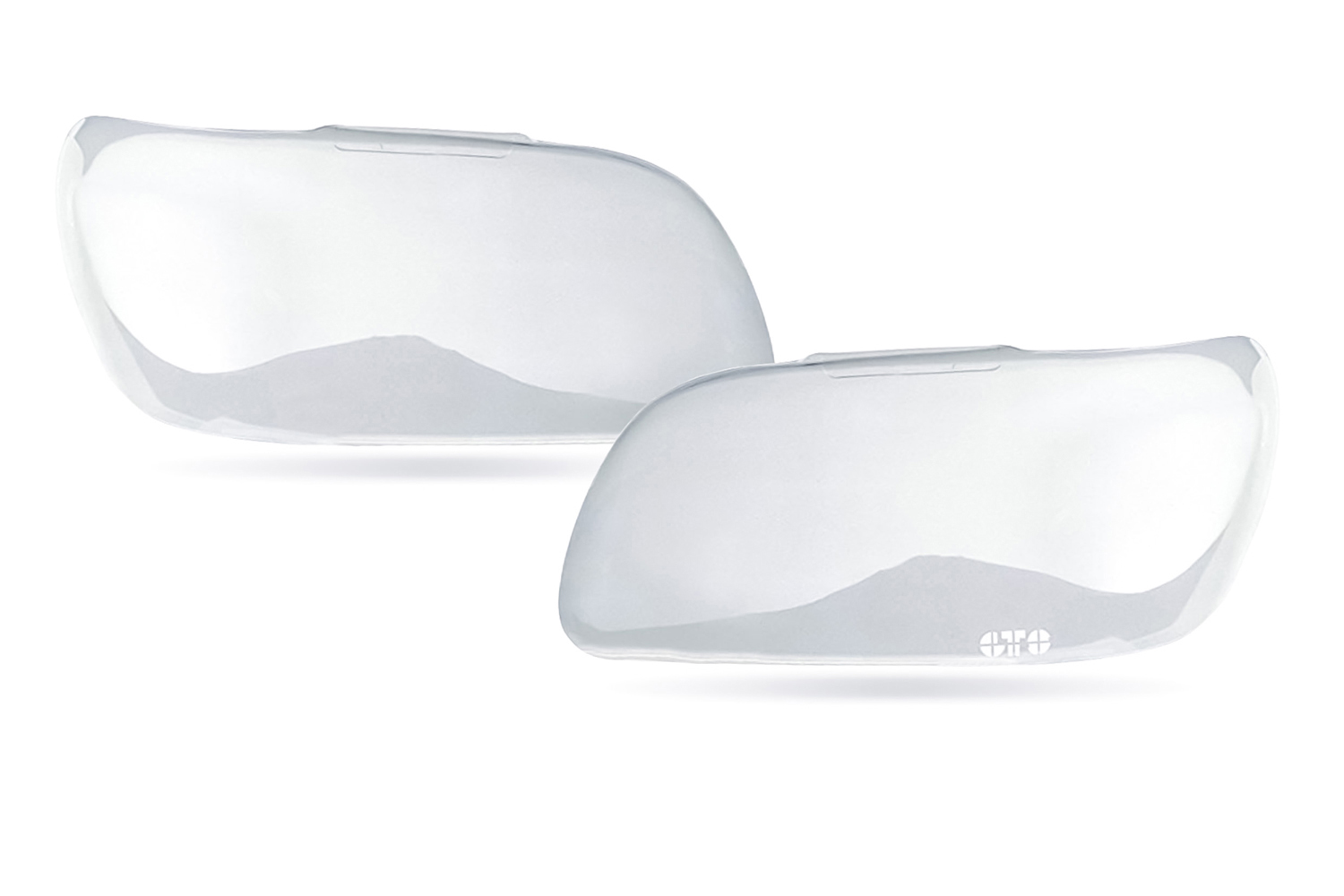 G.t. Styling Headlight Cover  2 Pc. Clear
