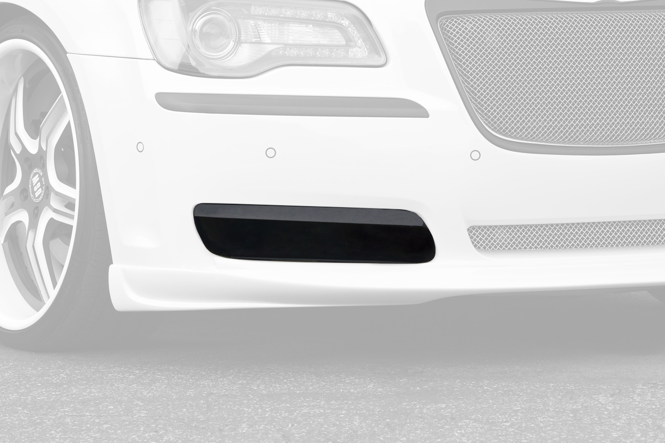 G.t. Styling Fog Light Covers  2 Pc. Carbon Fiber Look