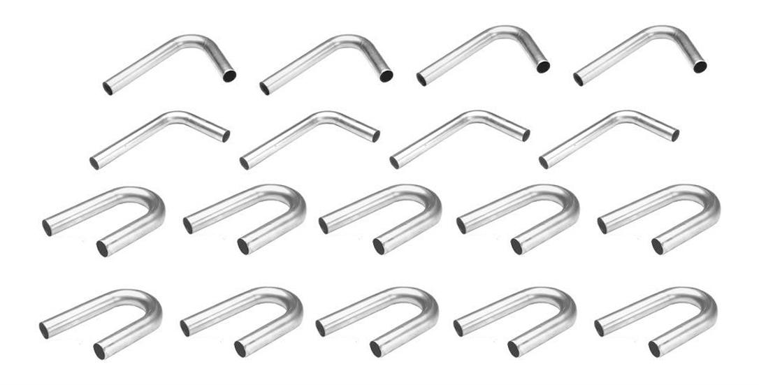Hedman Box Of Bends 2.250in 10-180 4-120 4-90 Bends