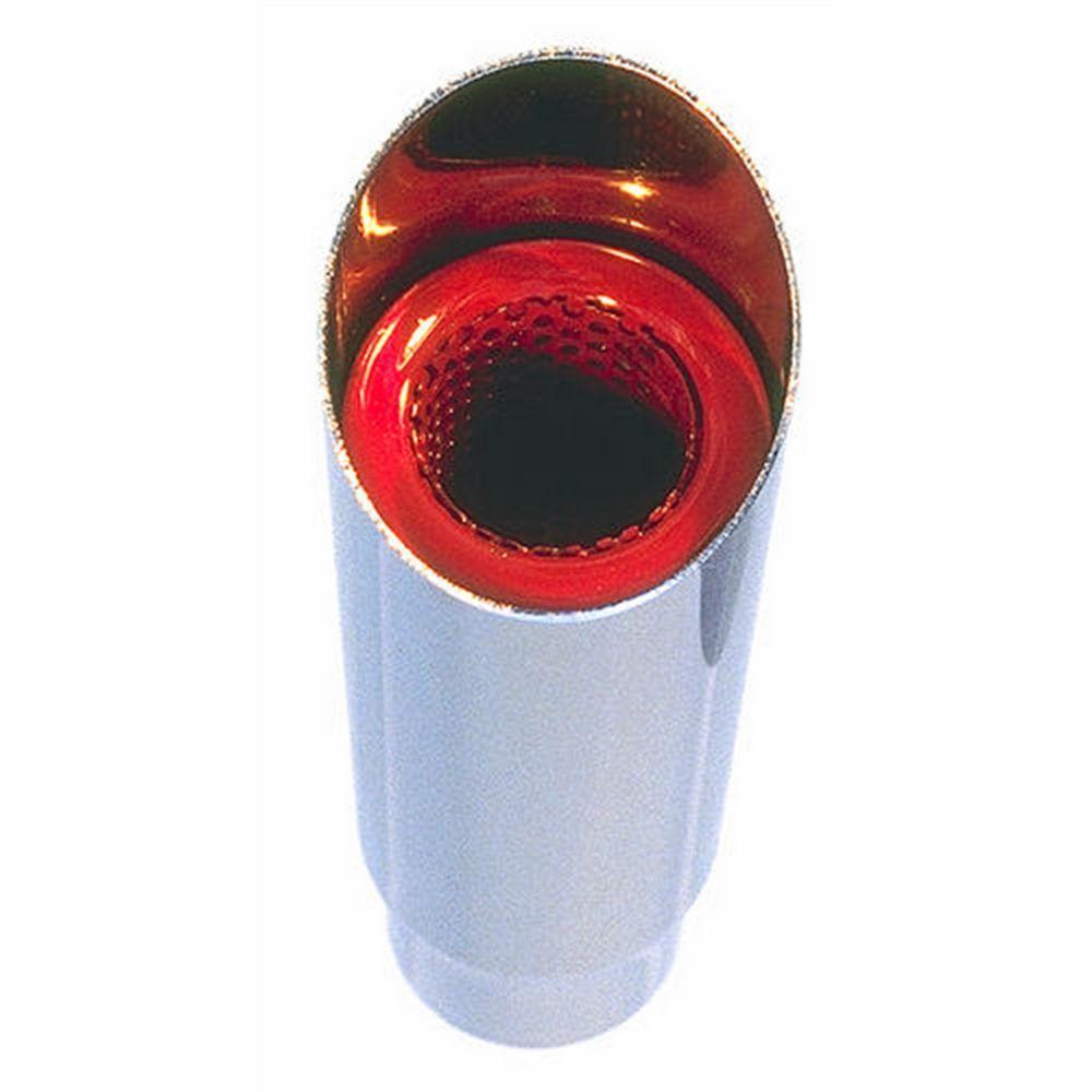 Hedman Exhaust Tip W/Resinator 2 1/4in Inlet