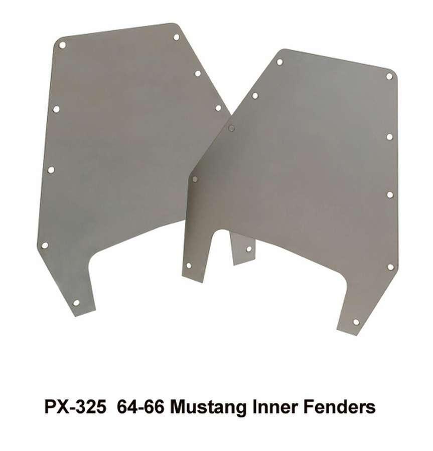 Heidts Rod Shop 64-1/2-67 Mustang Inner Fender Panels