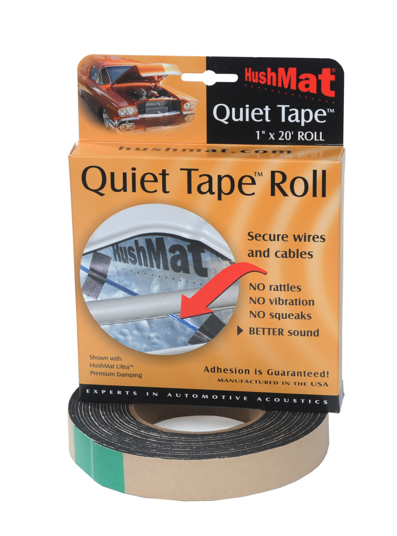Hushmat Quiet Tape Shop Roll 1in x 20ft