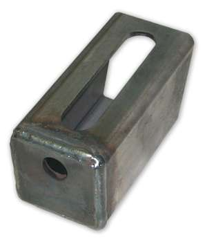 Howe 2.5 In. Slotted Block Universal Chassis Mount