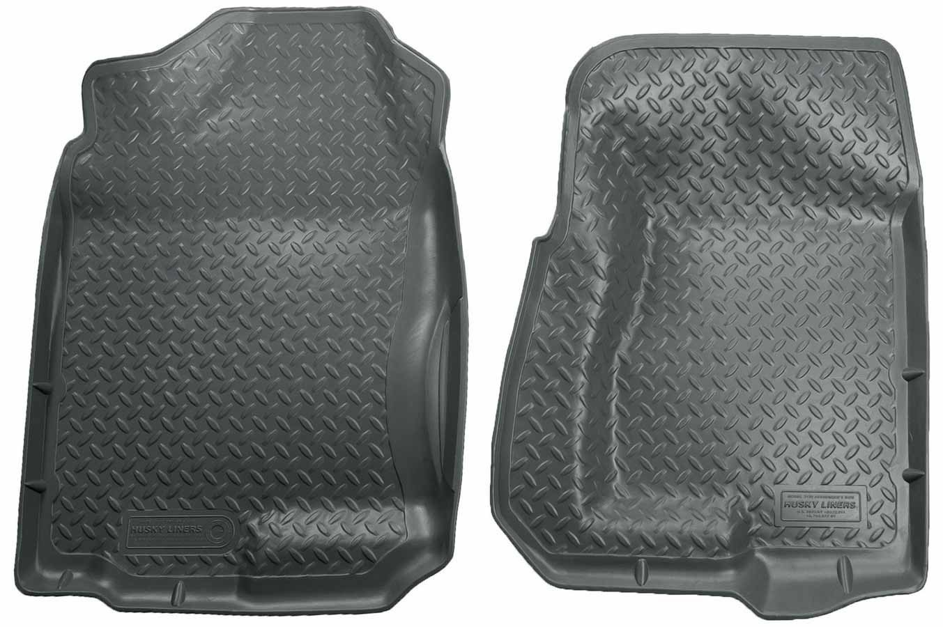 Husky Liners 99-07 GM P/U Ext Cab Front Liners- Gray