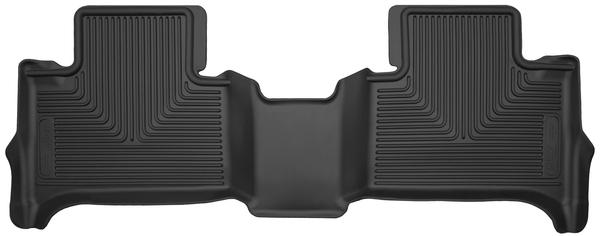 Husky Liners GM X-Act Contour Floor Rear Black
