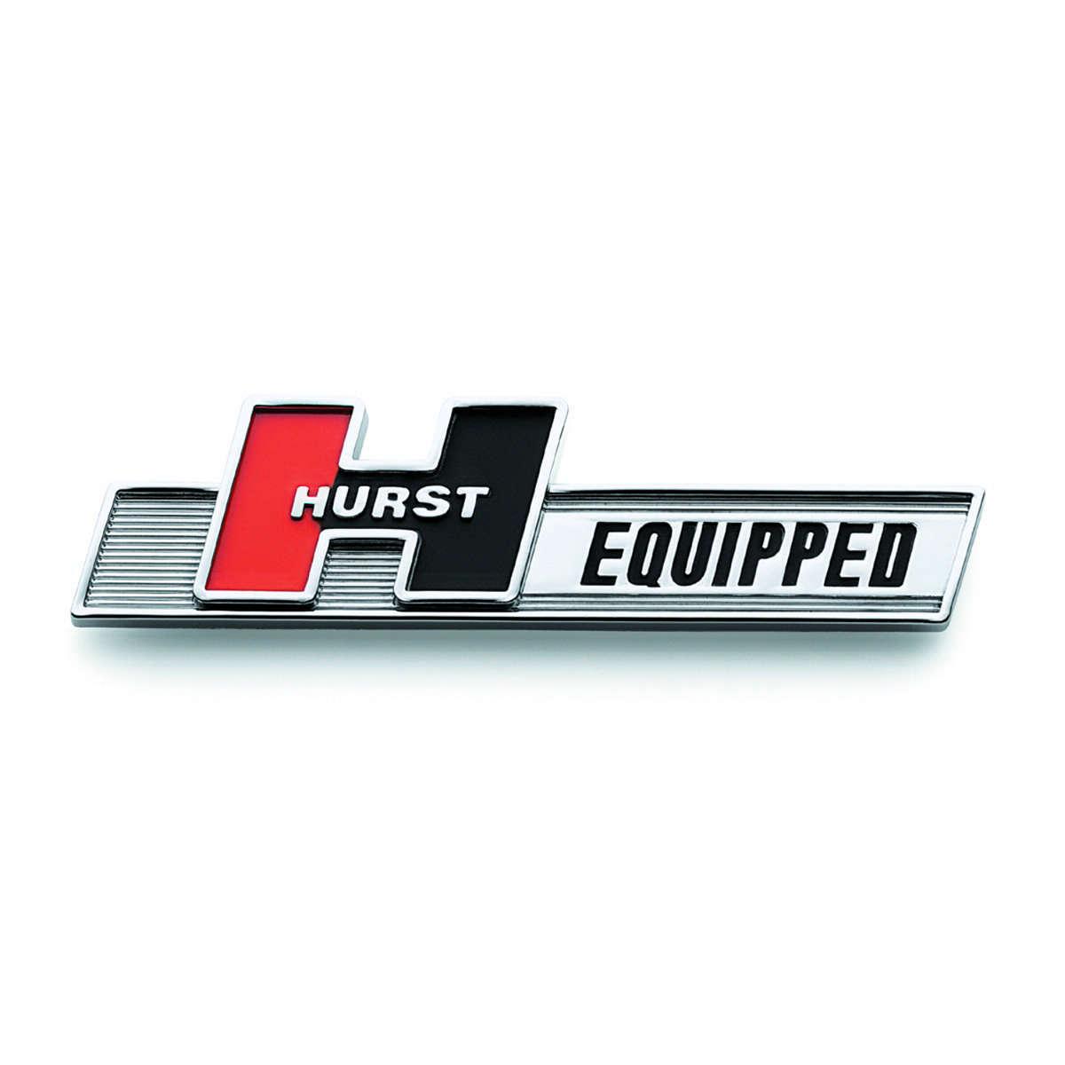 Hurst Equipped Emblem
