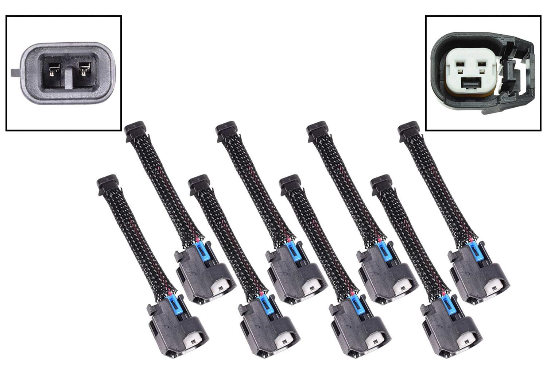Ict Billet Harness Adapter Mini Del phi Multec 2 to EV6