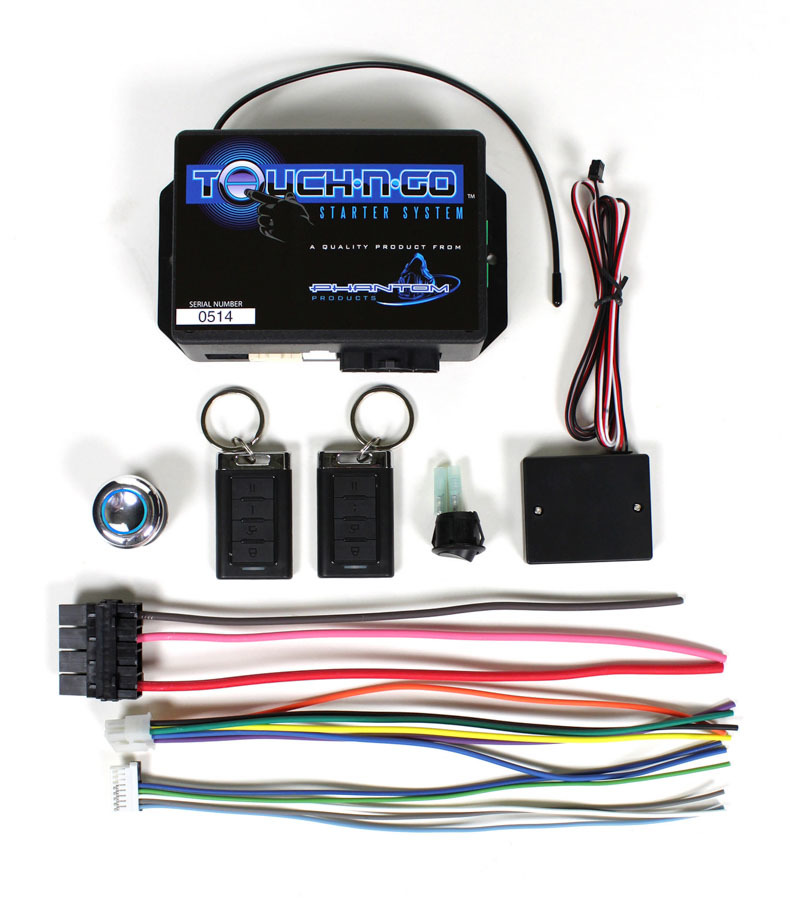 Ididit Touch-N-Go Start System w/22 mm Button