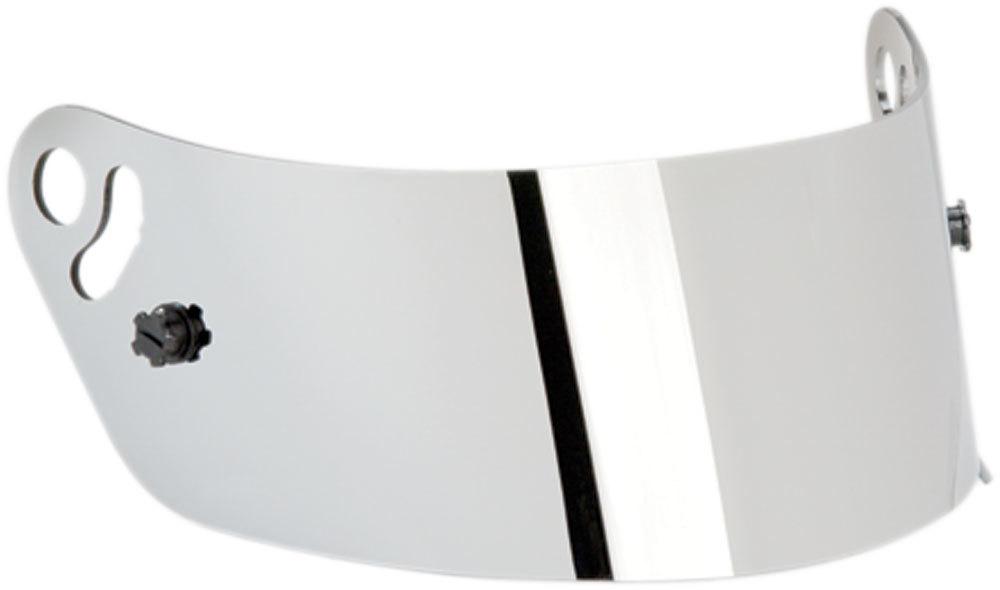 Impact Racing Shield Silver Mirror Vapor/Charger/Draft