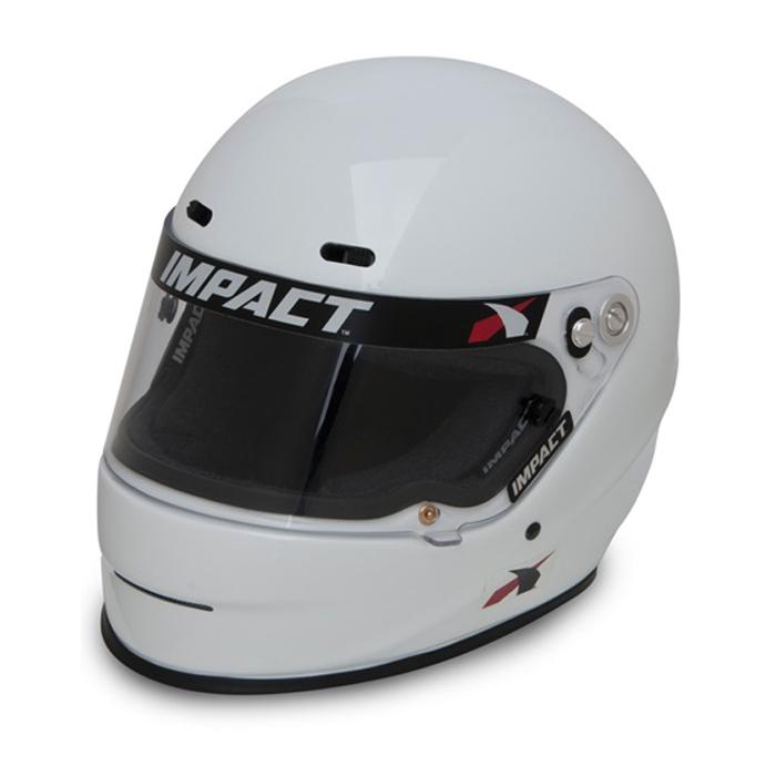 Impact Racing Helmet 1320 X-Small White SA2020