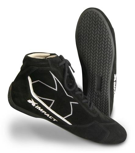 Impact Racing Shoe Alpha Black 13 SFI3.3/5