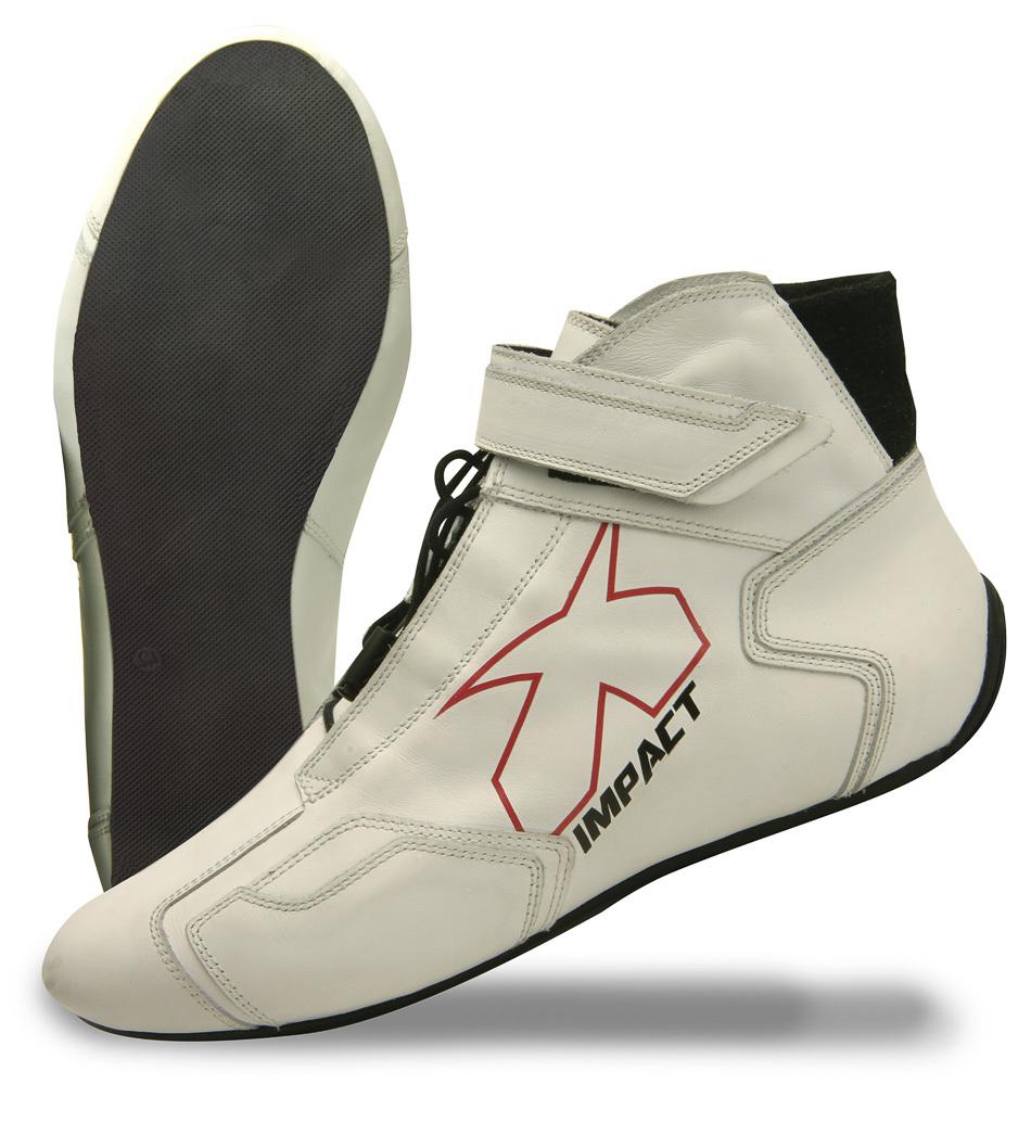 Impact Racing Shoe Phenom White 8 SFI3.3/5