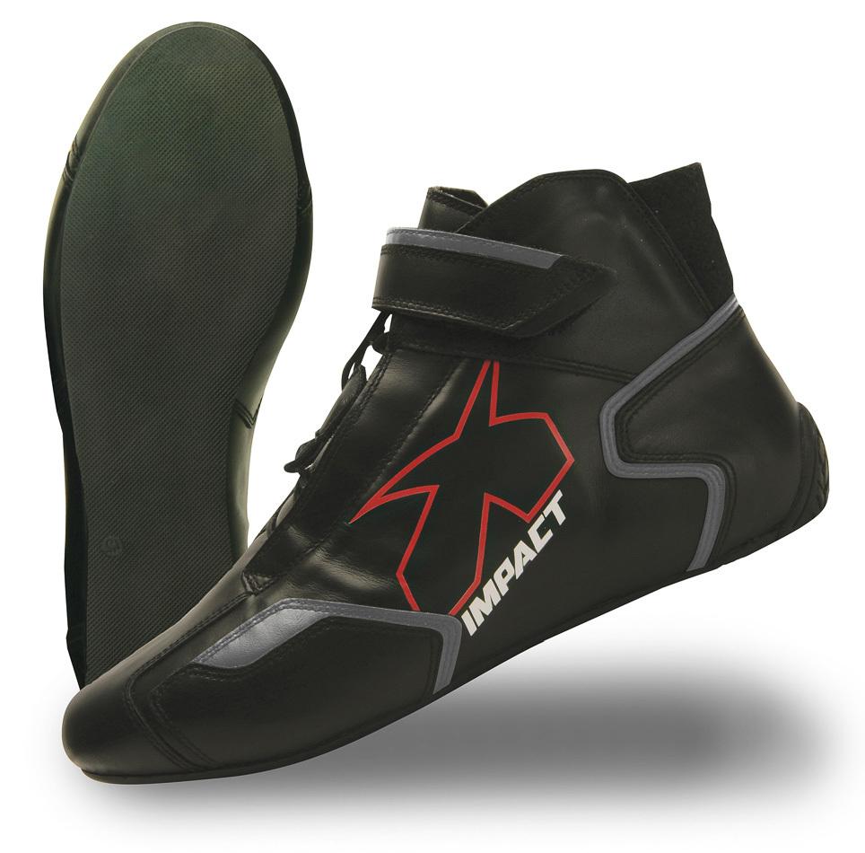 Impact Racing Shoe Phenom Black 10.5 SFI3.3/5