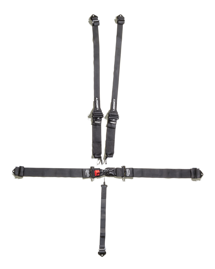Impact Racing 5-PT Harness System L/L PD 3in/2in Trans Shldr