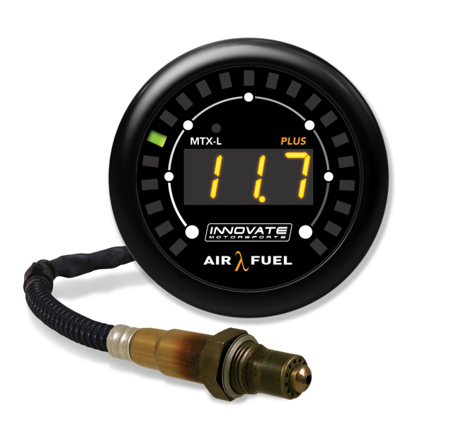 Innovate Motorsports MTX-L Plus Digital Air/ Fuel Ratio Gauge Kit