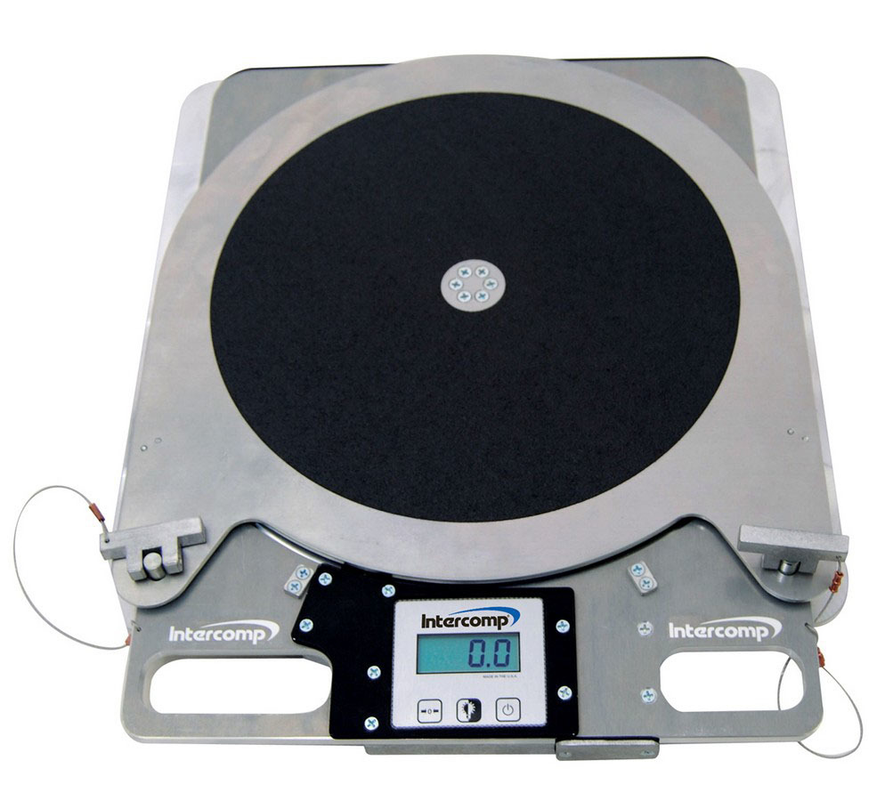 Intercomp Digital Turn Plate Pair