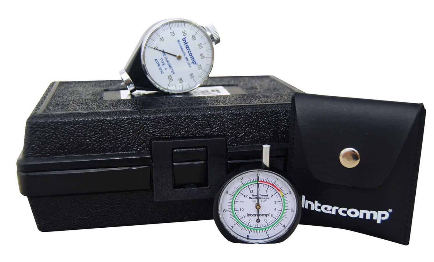 Intercomp Durometer & Tread Depth Gauge Set