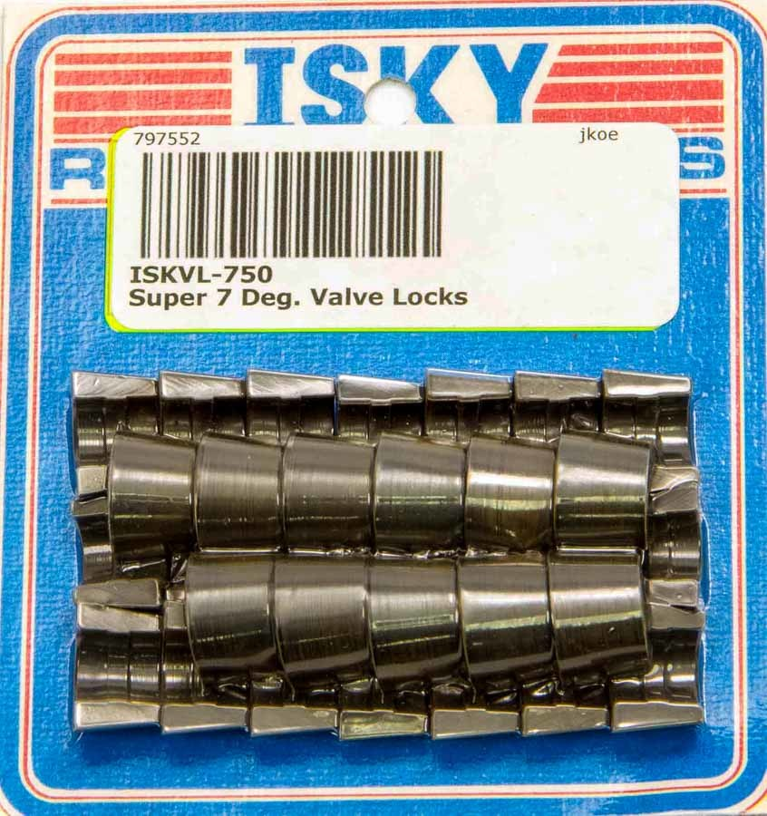 Isky Cams Super 7 Deg. Valve Locks 11/32in