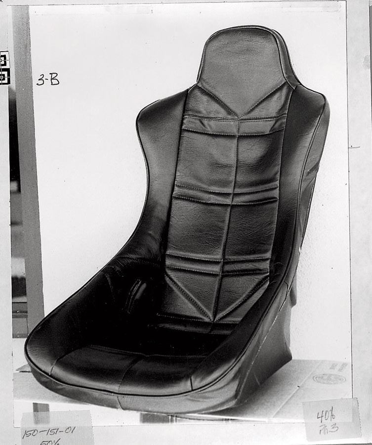 Jaz Turbo Pro Seat Cover Black Vinyl