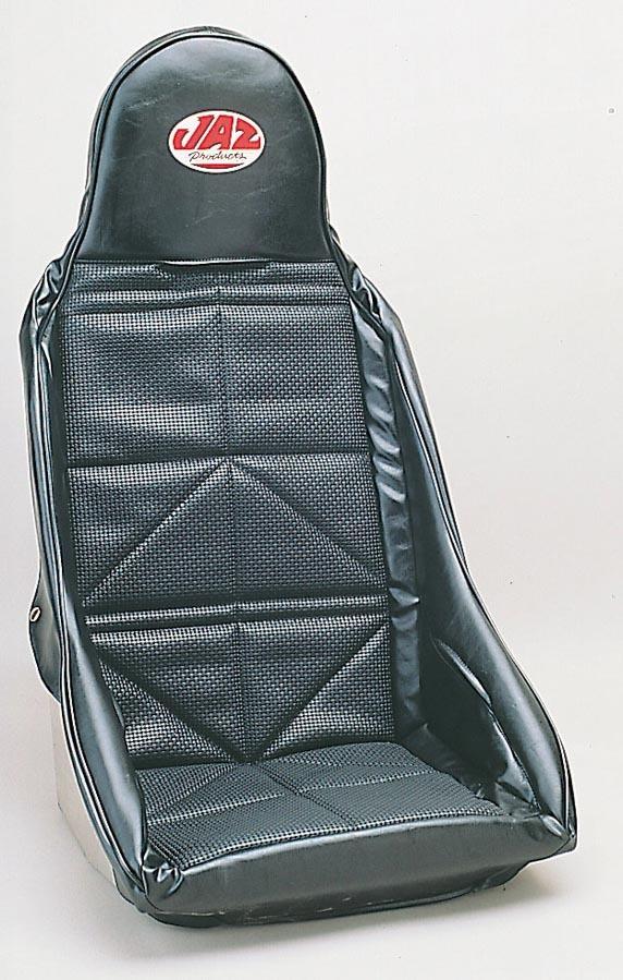 Jaz Drag Race Seat Cover Black Vinyl